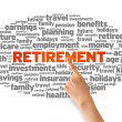 Royalty-Free Stock Photo: Retirement
