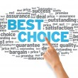 Best Choice - Stockfoto