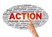 Action — Stock Photo