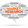 Market Research - Stock Vector