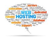 Web ホスティング — ストックベクタ