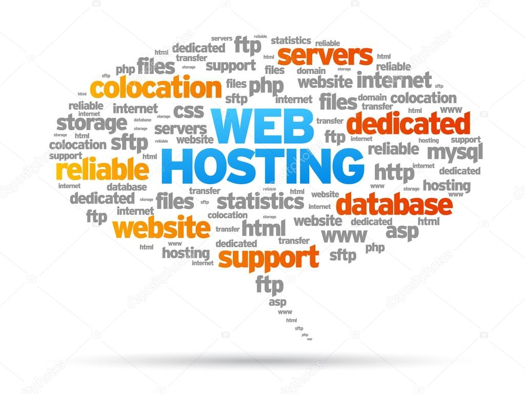 Web Hosting Wallpaper Web Hosting Speech Bubble