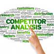Competitor Analysis — Stock Photo #12152085