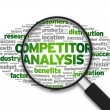 Stock Photo: Competitor Analysis