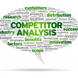 Stock Vector: Competitor Analysis