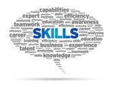 Skills — Stock Vector