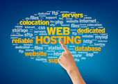 Web hosting — Foto Stock