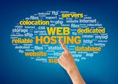Web hosting — Foto Stock