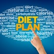 Diet Plan - Foto Stock