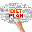 Foto de Stock  : Diet Plan