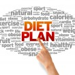 Diet Plan — Stock Photo #12192482