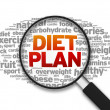 Diet Plan — Stock Photo #12192499