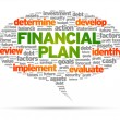 Financial Plan - Stock Vector