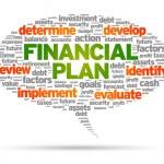 Financial Plan — Stock Vector