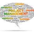 Project Management — Image vectorielle