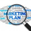 Stock Photo: Marketing Plan