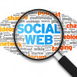 Social Web — Stock Photo