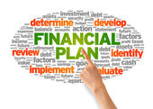 Financial Plan — Stock Photo