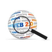 Web 2.0 — Foto Stock