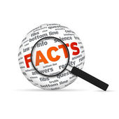 Facts Sphere — Stock Photo
