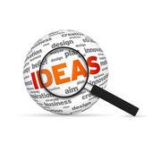 Ideas Sphere — Stock Photo