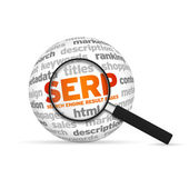 Search Engine Result Pages — Stock Photo