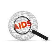 Aids Sphere — Stock Photo