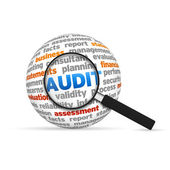 Audit Sphere — Stock Photo