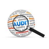 Esfera de auditoría — Foto de Stock