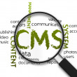 Stock Photo: Content Management System