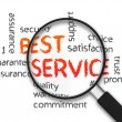 Stock Photo: Best Service