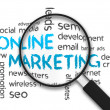 Online Marketing — Stock Photo