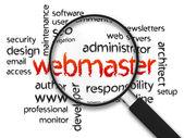 Webmaster — Stock fotografie