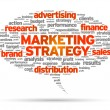 Marketing Strategy - Stockvektor