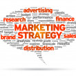 Marketing Strategy - Vettoriali Stock