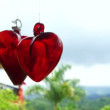 Spinning Hearts — Stock Video