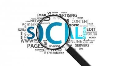 Social Media — Stock Video