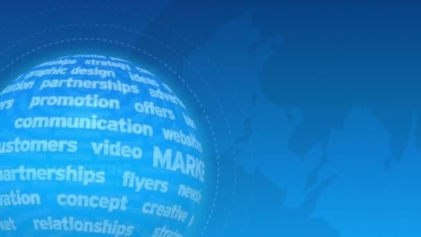 Fond de motion marketing — Vidéo