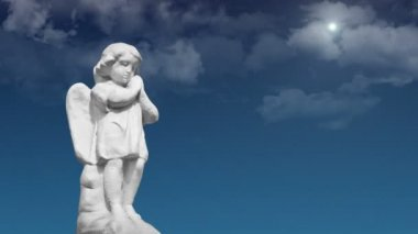 Dua eden melek — Stok video