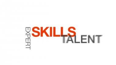 Skills — Vídeo Stock