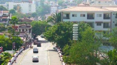Puerto Vallarta Time lapse — Stock Video