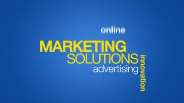 Marketing Solutions — Stock Video #15744241