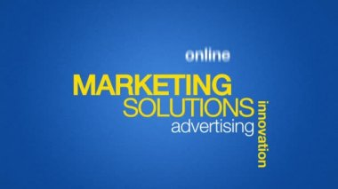 Marketing Solutions — Stock Video