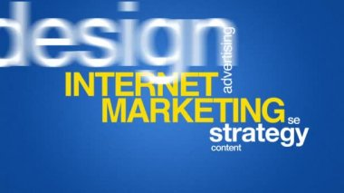 Internet Marketing — Stock Video