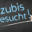Stock Photo: Azubis Gesucht!