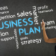 Royalty-Free Stock Photo: Business Plan