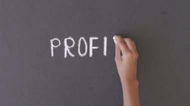 Profit Illustration — Stock Video
