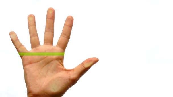 Scanner impression de doigt — Vidéo