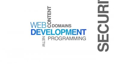 Web Development — Stock Video