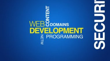 Web Development — Stock Video #24022689